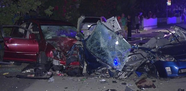 DUI accident.