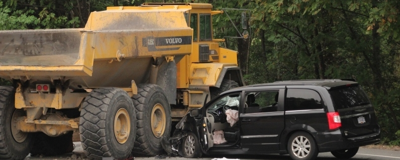 construction vehicle accident